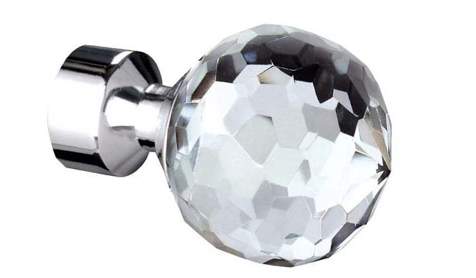 bella chrome 28mm finial