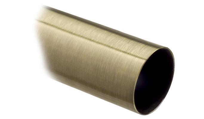 28mm antique brass curtain pole