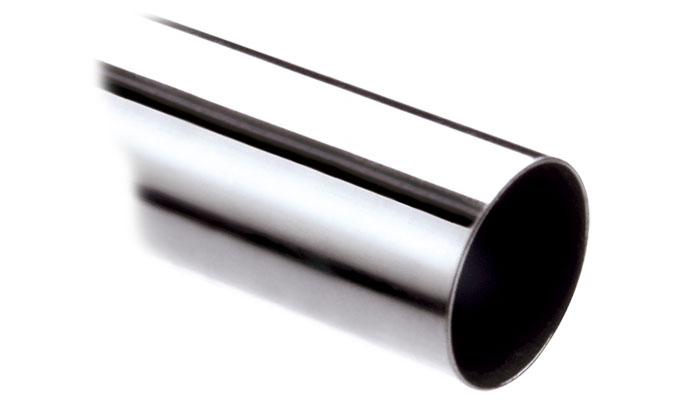 28mm chrome curtain pole