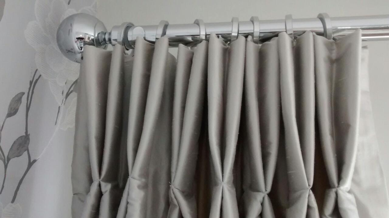 pinch pleat curtains that fit just right and look great