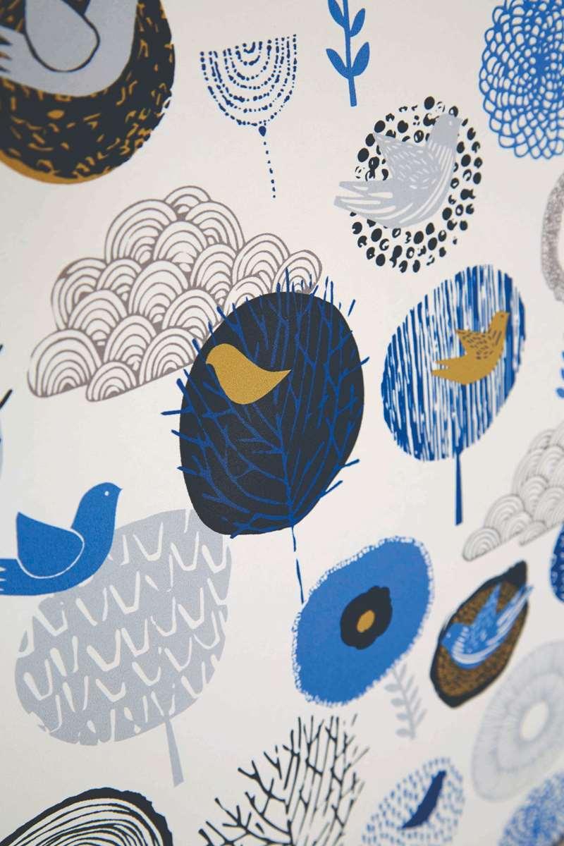 birdsong daybreak roller blind fabric