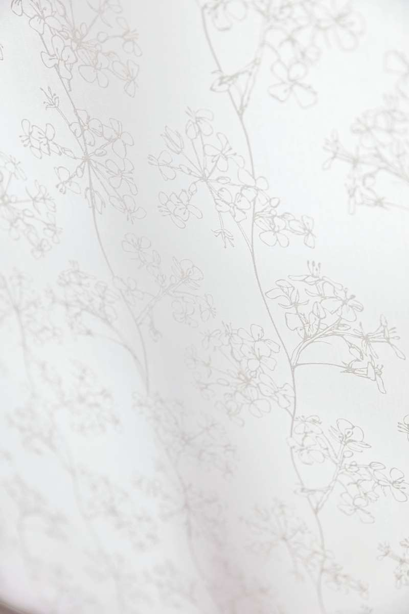 ayana white roller blinds fabric