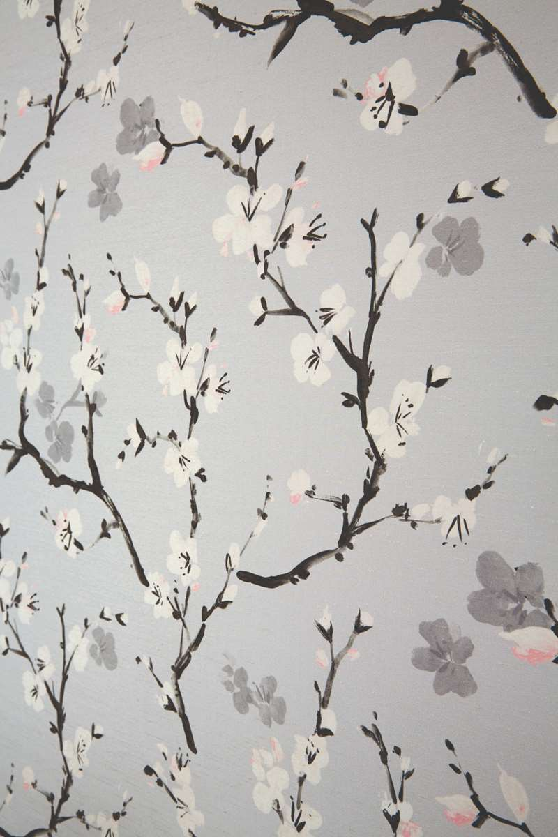 chatsworth black roller blind fabric
