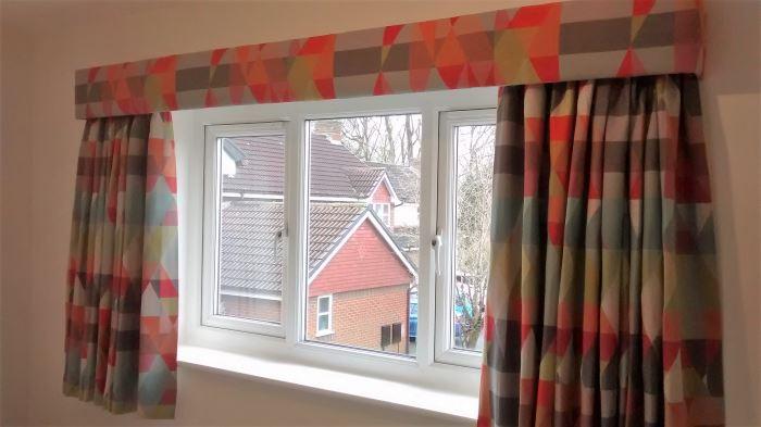 Straight Window Pelmets