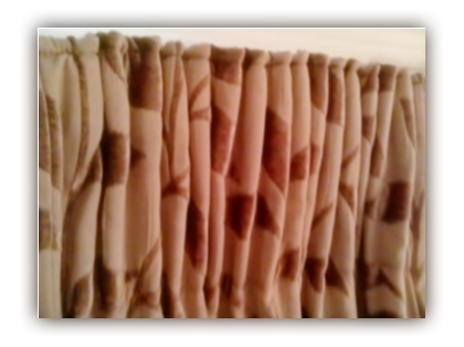 curtain styles such as deep pleat curtains