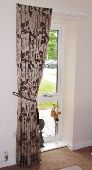 Pencil pleat curtains made to measure