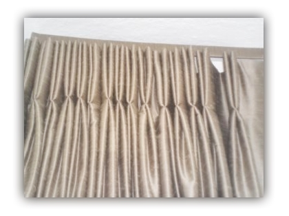 curtain styles such as pinch pleat curtains