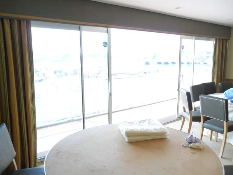 Super wide straight window curtain pelmet