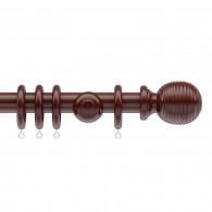 35mm Parkland Tatton walnut wood pole