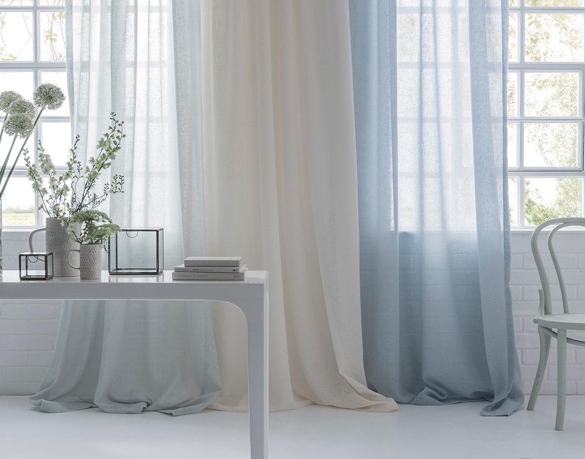 Midori sheer curtains